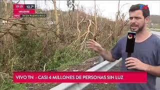 """Puerto Rico Es """"zona De Desastre"""" Después Del 'María'"""