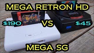 SEGA - Analogue Mega Sg vs Hyperkin Mega Retron HD