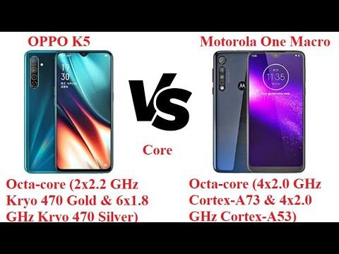 Oppo K5 Vs Motorola One Macro  Specification Comparison Review