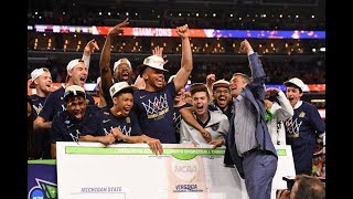 Virginia Cavaliers celebrate 2019 National Championship