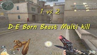 [ Bình luận CF ] D.E Born Beast , Nhẫn VIP  - Quang Brave
