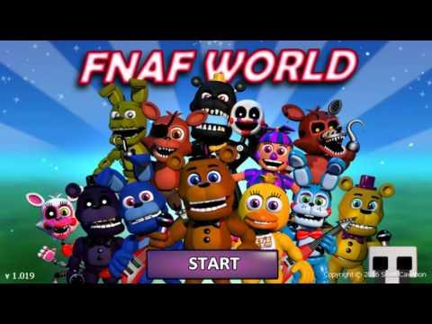 FNAF World Full Playthrough! (Normal Mode)