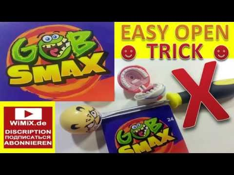 Open Mc Donalds GOB SMAX TOYS Happy Meal МАКДОНАЛЬДС ГОБ СМАКС ХЕППИ МИЛ