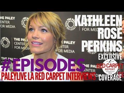 """Kathleen Rose Perkins interviewed at """"Episodes"""" PaleyLive LA Event #Episodes #PaleyCenter"""