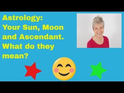 Sun, Moon and Ascendant in Astrology - why they are so important