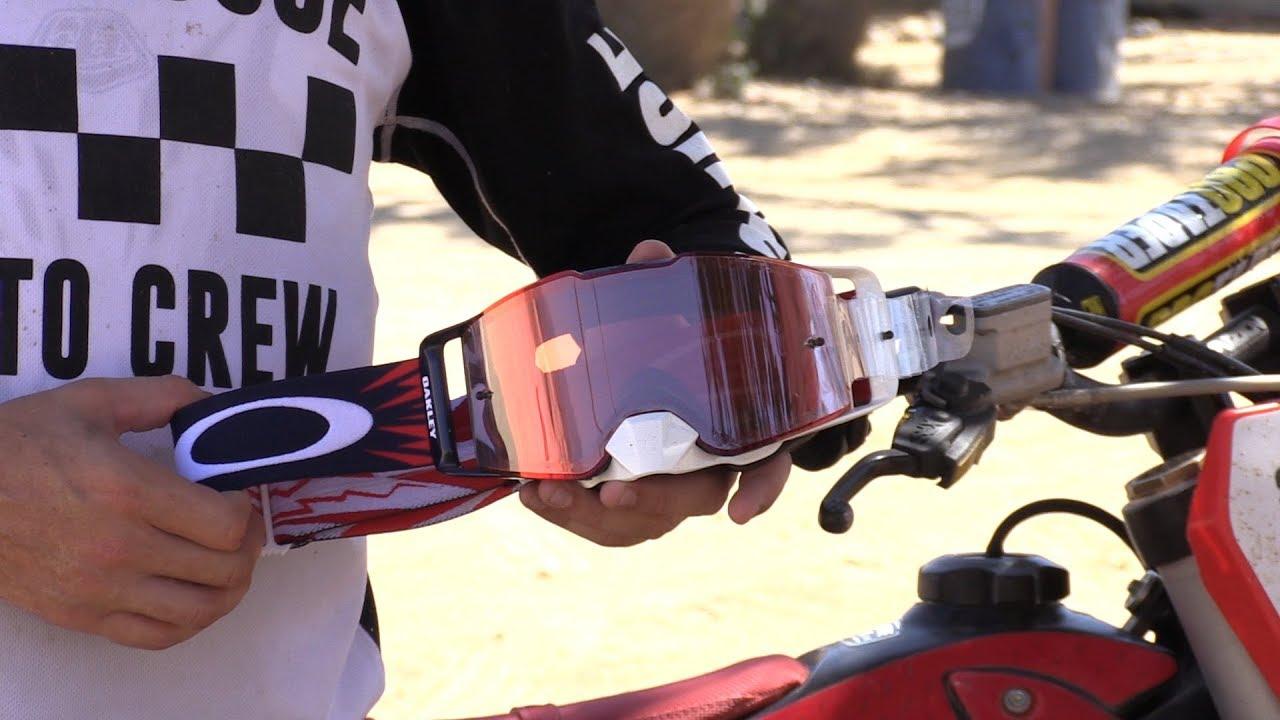 Line Goggles Rider Prizm Front Motorcycle Testimonial Mx Oakley q35AL4Rj