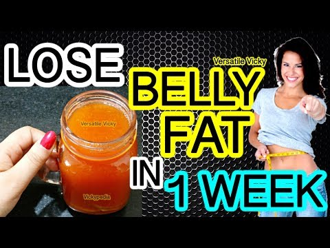 how-to-lose-belly-fat-in-1-week-|-flat-belly-drink-|-100%-effective-belly-fat-loss-drink