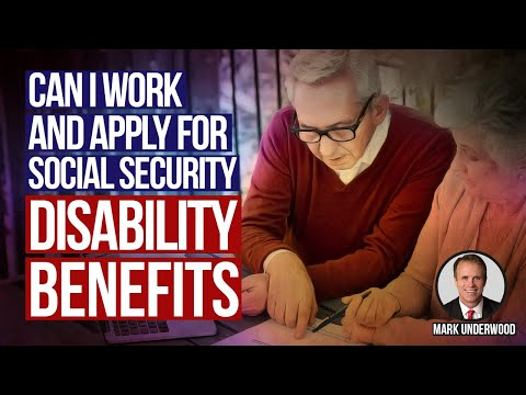 Can I Work and Apply for Social Security Disability Benefits?
