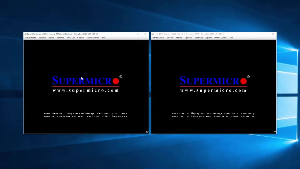 Upgrading your Supermicro SuperServer SYS-5028D-TN4T from BIOS 1 0b or 1 0c  to 1 1