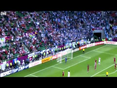 Česko na ME 2012 ve fotbale v Polsku a na Ukrajině (EURO 2012) - sestřih zápasů