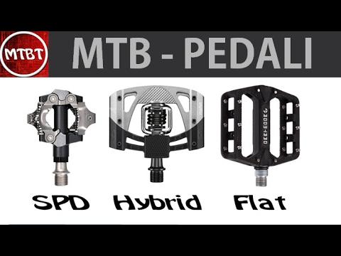 quality design 9baf6 d2676 Guida ai pedali per MTB - SPD - IBRIDI - FLAT vantaggi e svantaggi | MTBT