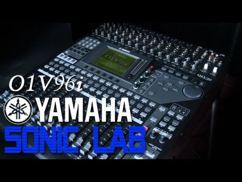 Yamaha O1v96i Digital Mixing Desk Review