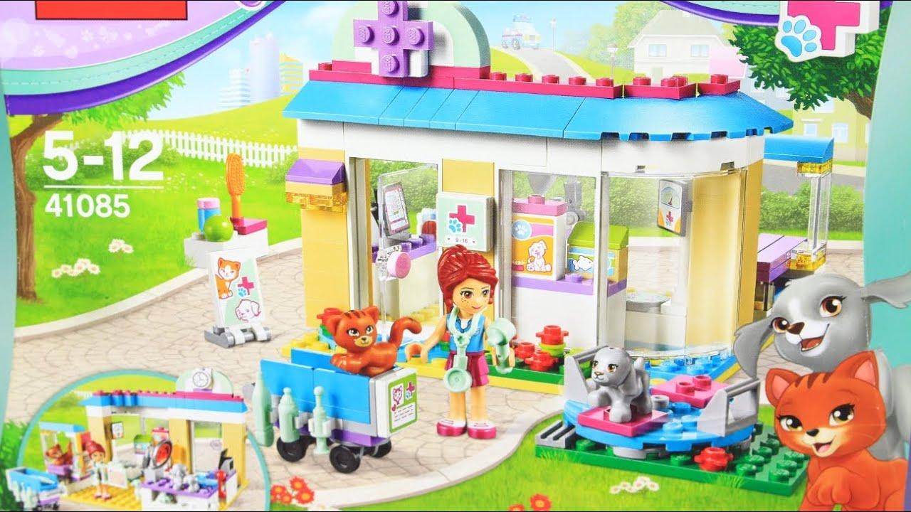 Vet Clinic Lecznica Dla Zwierząt 41085 Lego Friends