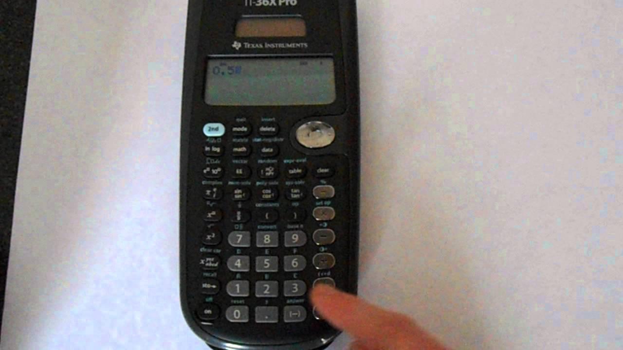 Ti-36x pro full review math class calculator.