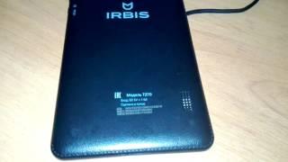 Прошивка планшета IRBIS TZ70 ANDROID 5.1/ Firmware IRBIS TZ70