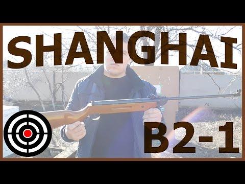 shanghai b 2 1пневматическая винтовка shanghai b 2-1 b 2-2 b 3-3 тест обзор воздушка