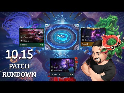Patch 10.15 Rundown | TFT Galaxies | Teamfight Tactics