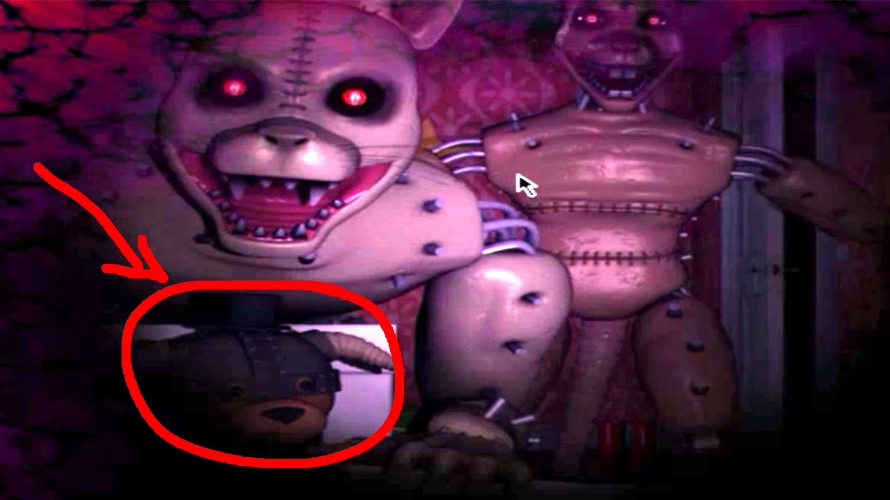 Five Nights at Candy's 3 Night 3 Gameplay | NIGHTMARE ANIMATRONICS!!