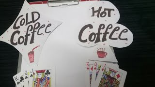KITTY PARTY GAME Hot coffee ☕ Cold coffee 🍺 with friends
