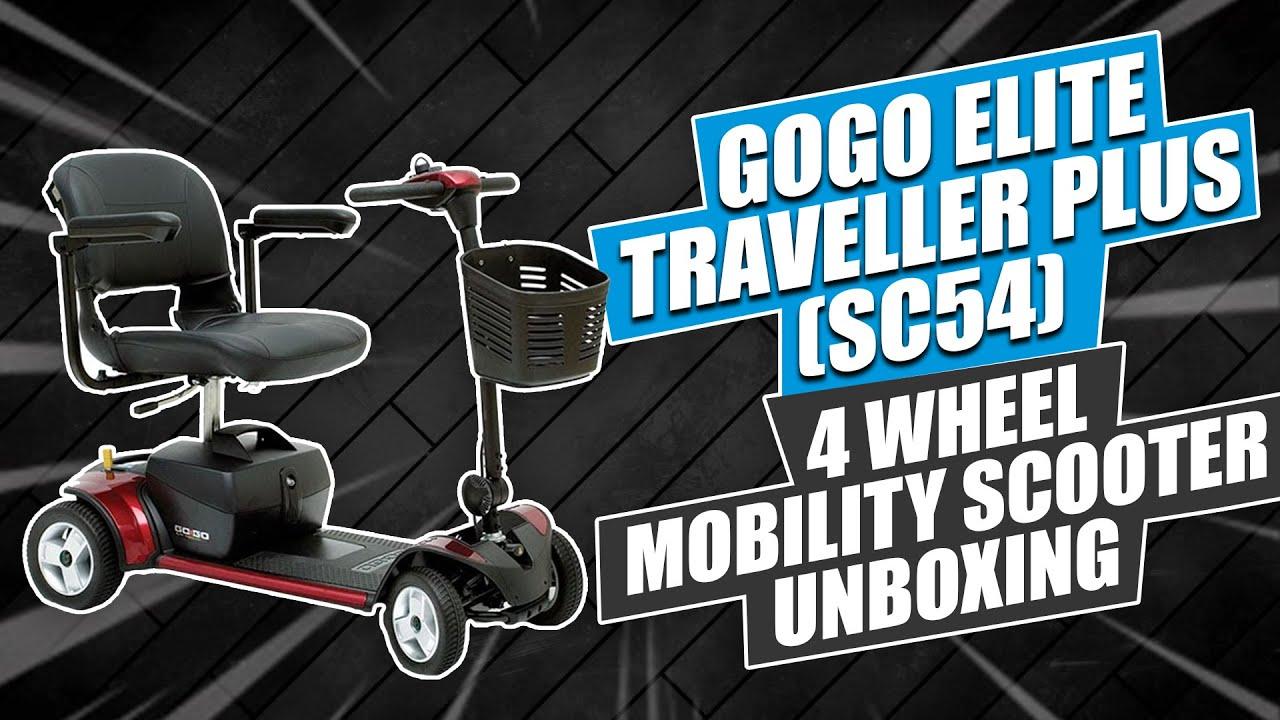 GOGO Elite Traveller Plus (SC54) 4 Wheel Mobility Scooter Unboxing
