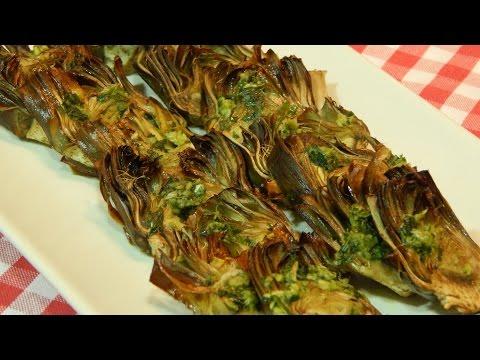 receta-fácil-de-alcachofas-al-horno