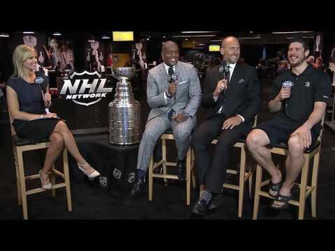 Sidney Crosby on Media Day
