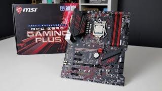 MSI MPG Z390 Gaming Plus - TEST budżetowej płyty z Z390