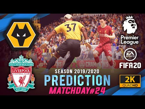 WOLVES vs LIVERPOOL   FIFA 20 Predictions: Premier League 2019/20 ● Matchday 24   #WOLLIV