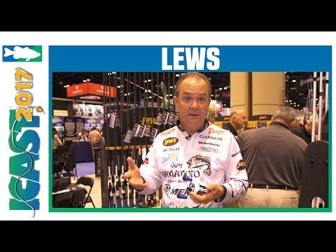 Lew's Custom Inshore Speed Reels & Rods With Jay Yelas | ICAST 2017
