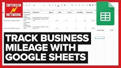 How to Calculate & Track Your Business Mileage Automatically with Google Sheets