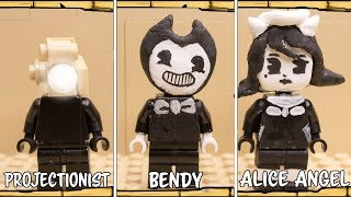 All Characters Lego Bendy and the Ink Machine 1-4