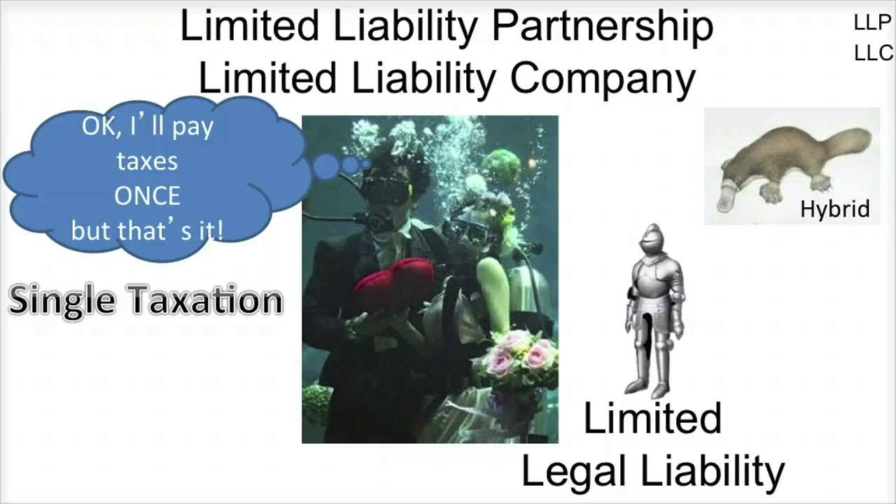 forms of business ownership llp llc video slides  forms of business ownership llp llc video slides 1 8