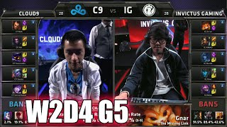 Cloud 9 vs Invictus Gaming | Week 2 Day 4 Group B LoL S5 World Championship 2015 | IG vs C9 G2