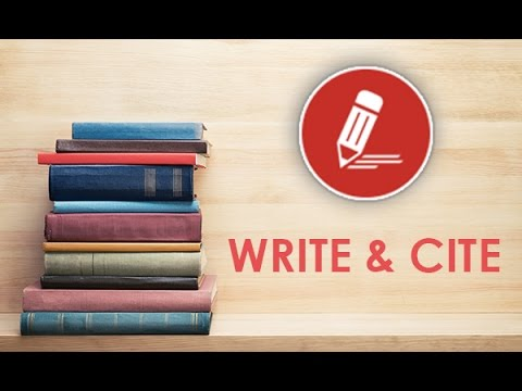 Write & Cite  Academic Writing Readiness Course Overview