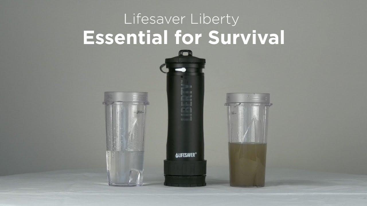 cff2ba8b70 Lifesaver Liberty Water UltraFilter - How To Use - YouTube