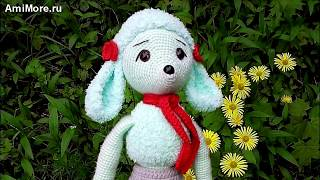 Амигуруми: схема Мадемуазель Фифи. Игрушки вязаные крючком - Free crochet patterns.
