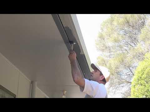 How to paint gutters - How to paint gutters using a brush.