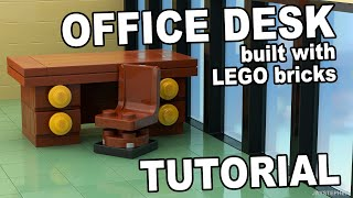 Tutorial - Lego Office Desk [cc]