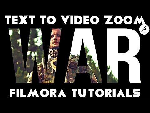 Filmora   Text to Video Zoom Tutorial in Filmora   How To Edit With Filmora #14