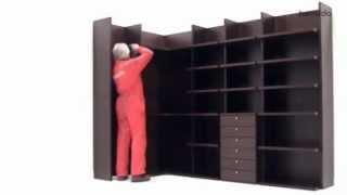 Repeat youtube video Cómo montar un armario - vestidor abierto