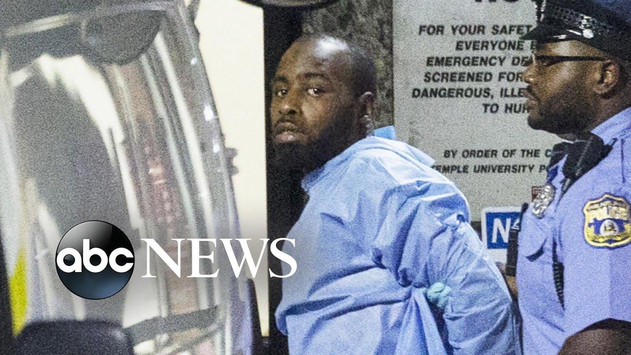 ABC News:New video of Philadelphia shootout shows how suspect ambushed police