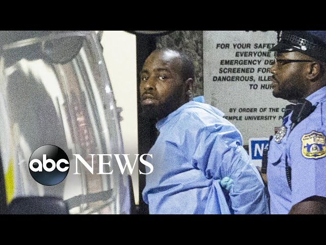 New video of Philadelphia shootout shows how suspect ambushed police