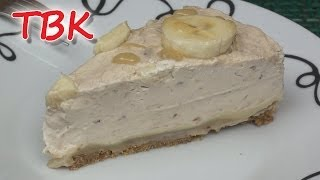 No-bake Banana Toffee Cheesecake Recipe - Titli's Busy Kitchen