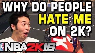NBA 2K16 Trolling Kids Online (Nobody likes me)