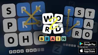 Word Brain free puzzle word - Connect to Find Word screenshot 1