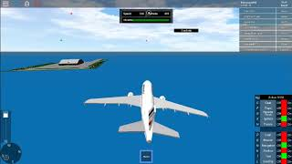 Playing SFS Flight Simulator(very good recommended map) /Roblox/TotoTau787