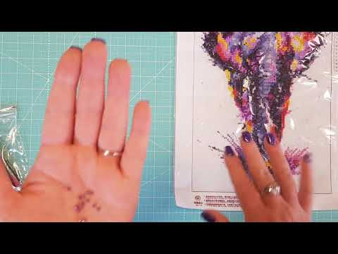 5D Diamond Painting --Unboxing Product Review