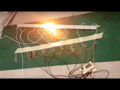 Kayar sinyal devresi uygulaması // Making sequential turn signal circuit board
