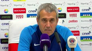 Kasımpaşa - Yeni Malatyaspor maçının ardından