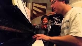 Sasha, Rose & Papa , Violon Piano - Débuts 2